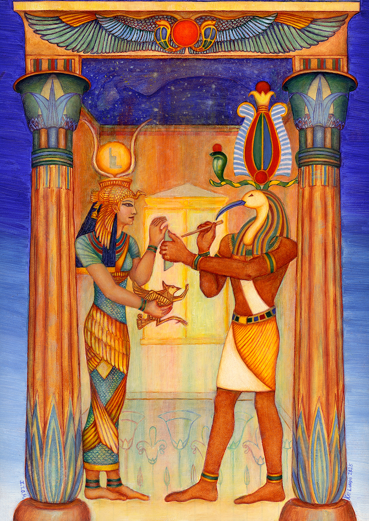 Isis e Toth