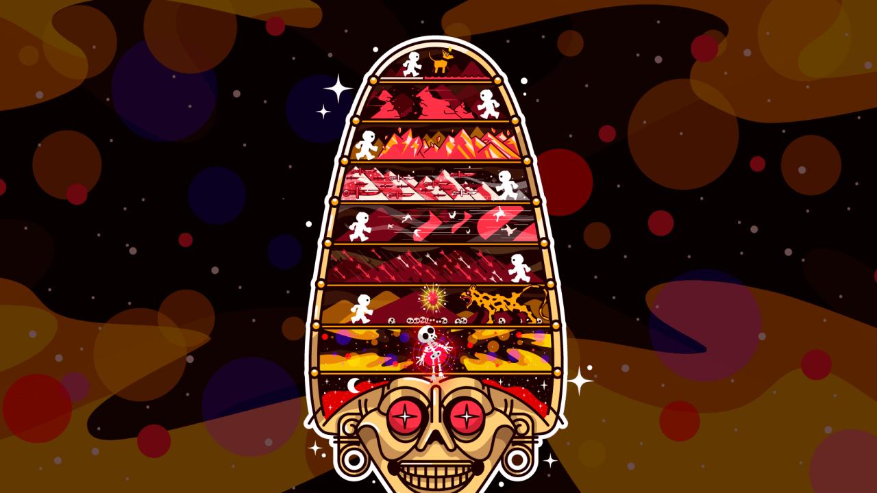 Os nove mundos asteca