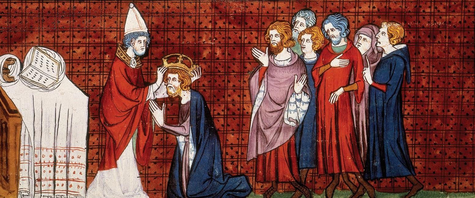 A coroação de Carlos Magno